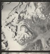 Maynard Glacier, aerial photograph SEA 73 118, Alaska
