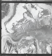 Johns Hopkins Glacier, aerial photograph SEA 74-102, Alaska