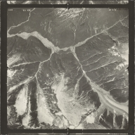Leduc Glacier, aerial photograph SEA 86-090, British Columbia