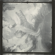 Leduc Glacier, aerial photograph SEA 86-096, British Columbia