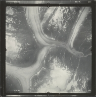 Leduc Glacier, aerial photograph SEA 86-098, British Columbia
