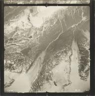 Gracey Creek Glacier, aerial photograph SEA 90-096, Alaska