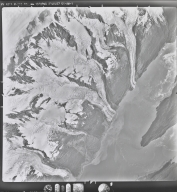 Wellesly, Vassar, Bryn Mawr, Smith, and Baltimore Glaciers, aerial photograph M 233 8705, Alaska