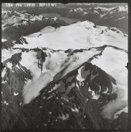 Glaciers west of Wolverine Glacier, Alaska