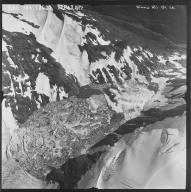 Unknown glacier lake near the Snow River, Alaska