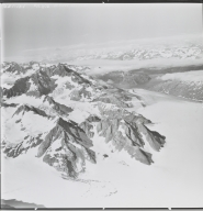 Unknown glacier near Mount Wilbur, Alaska