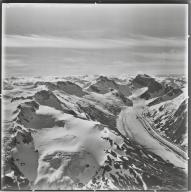Unknown glacier, Mount Fawcett area, Alaska and British Columbia