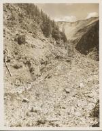 Unknown glacier near Milk Creek, Oregon
