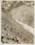 Unknown glacier near Milk Creek, Oregon