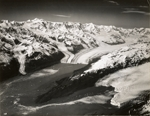 Smith Glacier, Harvard Glacier, Yale Glacier in College Fiord, Alaska