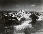 Iliamna Volcano, northern glacier, Alaska