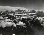 Mount Bona from northwest over Chitistone Canyon, Alaska