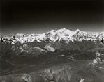 """Unknown glacier (""""Canyon Creek Glacier"""") and Shoup Glacier, Alaska"""