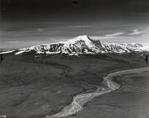 Mount Sanford from west up Sanford River, Alaska