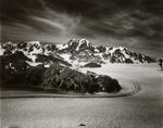 West edge of Seward Glacier, entrance to Malaspina Glacier, Alaska