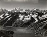 Toyatte Glacier and Topeka Glacier, Alaska
