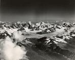 Glacier terminus near Mount Hayes, Alaska