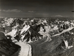 Glaciers near Hess Mountain and Mount Deborah, Alaska