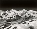 Glacier west of Black Rapids Glacier, Alaska