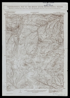 Topographical map of the Mount Evans recreational region, reproduced by Municipal Facts, Denver, Colo., July 1, 1922, showing Mt. Evans drive, trails and Echo Lake Municipal Park