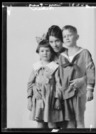 Portraits of Mrs. B. L. Baker and children