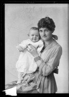 Portraits of Mrs. J. A. Morehouse and child