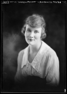 Portrait of Winifred Mayhoffer