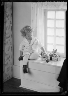 Portraits of child of Francis Reinert, Jr.