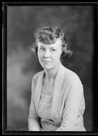 Portrait of Virginia Watt