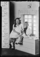 Portrait of children of A. C. Hervey
