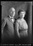 Portraits of Mr. and Mrs. Martin Reinert