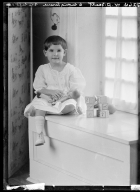 Portraits of child of Mrs. W. D. Scott
