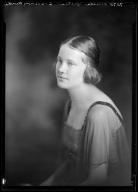 Portrait of Alberta Yates