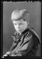 Portraits of child of Mrs. T. R. Pearce