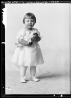 Portraits of child of L. F. Scatterday