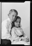 Portraits of children of M. P. Blim