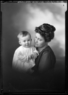Portrait of Mrs. C. J. Elzi and child