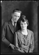 Portrait of Mr. and Mrs. Ralph Grounds