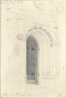 Doorway to chapel at Hammersmith seminary