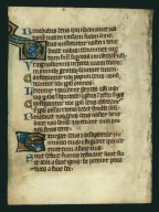 Psalter, illuminated.