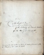 Catalogue of the library of female authors of the Rev. J. Fr. Stainforth