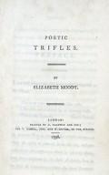 Poetic trifles