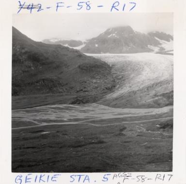 Geikie Glacier, Alaska, United States