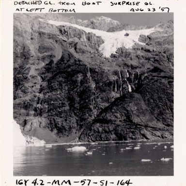 Detached Glacier, Alaska, United States