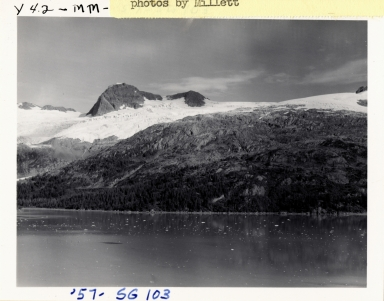 Unknown glacier, Blackstone Bay, Alaska, United States