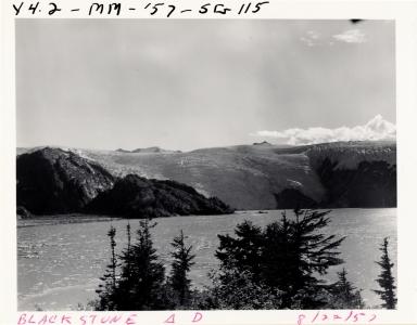 Blackstone Glacier, Alaska, United States