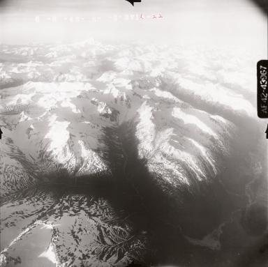 Lake Clark, aerial photoraph FL 109, Alaska, United States