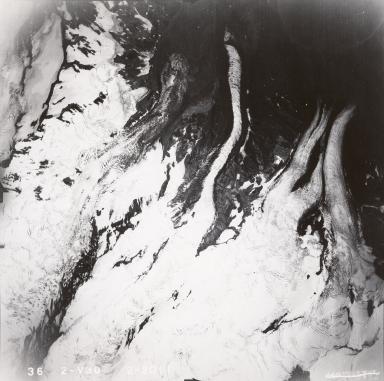 Umbrella Glacier, aerial photograph FL82, Alaska, United States