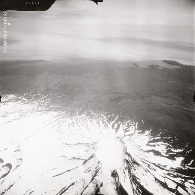 Mount Vsevidof, aerial photograph FL88, Alaska, United States