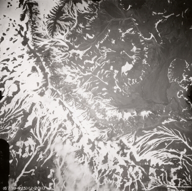 Tulik Volcano, aerial photograph FL88, Alaska, United States